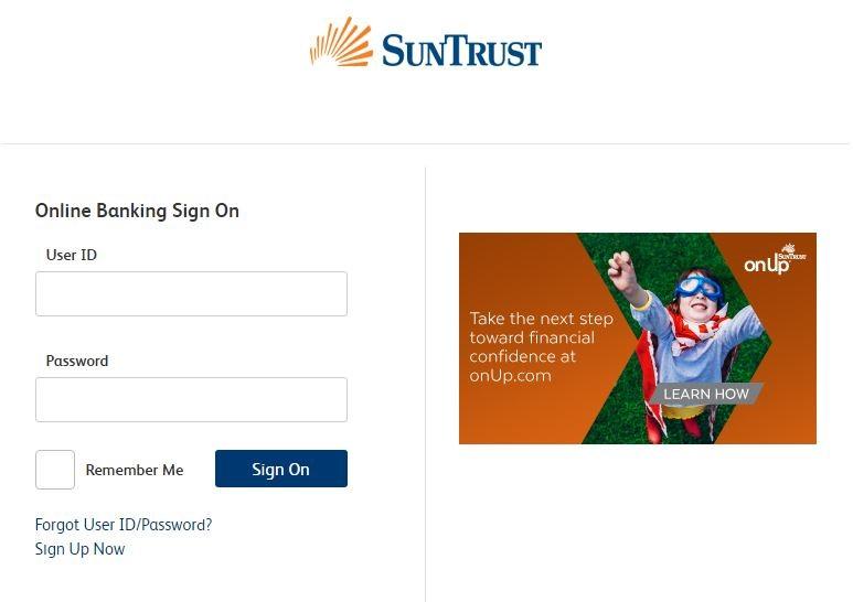 Suntrust Online Banking Login