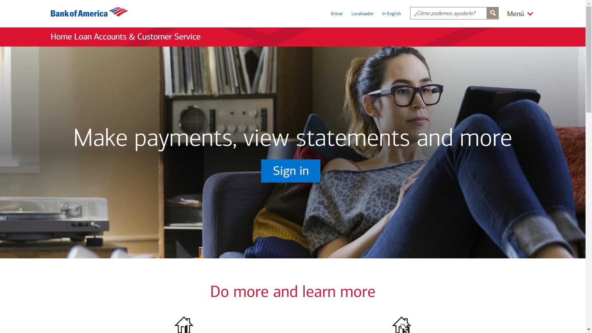 Bank of America Mortgage Login