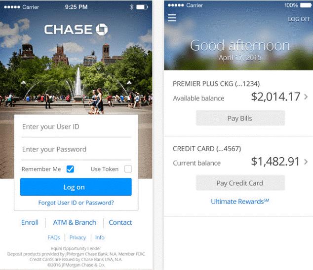 Chase Bank Mobile Login