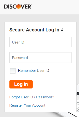 Discover Bank Login