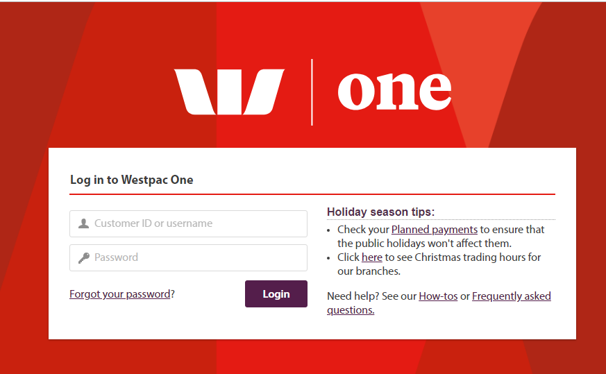 Westpac Bank New Zealand Login